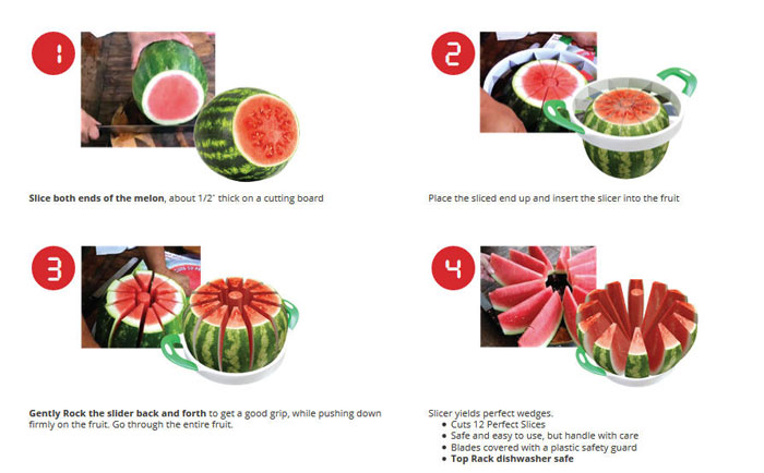 خرید هندوانه قاچ کن